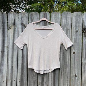 A NewDay (from Target ) Ribbed V-Neck Blouse
